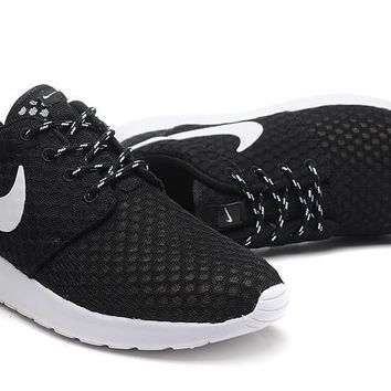 Nike Roshe Run BR Unisex Sport Casual Honeycomb Net Cloth Breathable Sneakers Couple Running Shoes