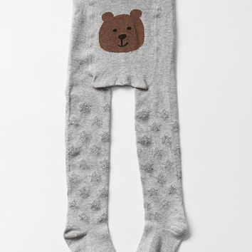 Gap Baby Starry Bear Tights