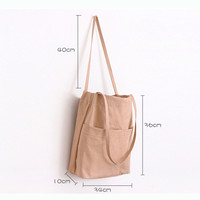 Buy Eastin Canvas Tote | YesStyle