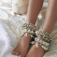 Indian Cowrie Shell Anklet