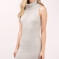 Kerri Turtleneck Sweater Dress