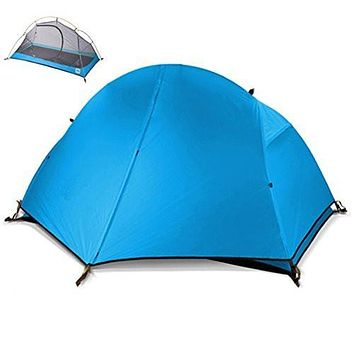 Weanas™ 1 Person 3 Season Double Layer CampingBackpacking Tent