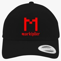 Markiplier Logo Embroidered Cotton Twill Hat