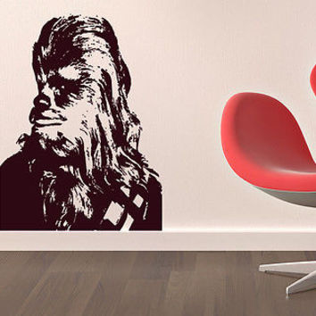 Chewbacca Star Wars Nursery Bedroom wall sticker decal wall art decor 7272-2