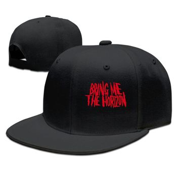 Bring Me The Horizon Band Logo BMTH Printed Unisex Adult Womens Baseball Hats Mens Hip-hop Hats