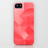 Danish Heart Love iPhone & iPod Case by Gréta Thórsdóttir  #love #heart #girly #Christmas #red #scarlet #ombre #pattern #iphone