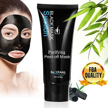 Pure Original Deep Cleaning Purifying Black Mask – For Blackheads, Acne And A Deep Facial Cleansing Exfoliator