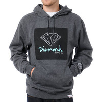 Diamond Supply OG Sign Charcoal Pullover Hoodie
