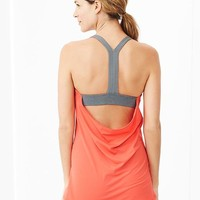 Gap Women Gapfit Double Layer Scoop Back Tank