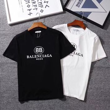 Men's T shirt new design BB letter Printed Tshirts brand High quality new O-neck short sleeve apes men women t-shirt
