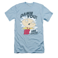 FAMILY GUY AND SUCH Short Sleeve Slim Fit T-Shirt