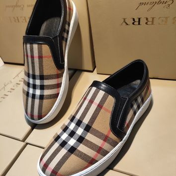 Burberry  Women Casual Shoes Boots fashionable casual leather Women Heels Sandal Shoes