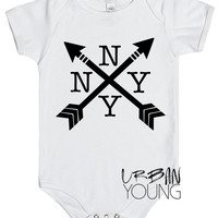 New York // Baby // NY // Graphic // Unisex // Kids // Clothing