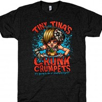 Tiny Tina's Crumpets-Unisex Athletic Black T-Shirt
