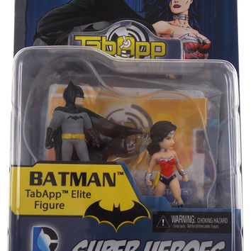 Batman Superman Wonder Woman General Zod TabApp Elite Figure DC Comics HeroClix
