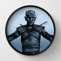 Come at Me, Snow! Wall Clock by BinaryGod.com