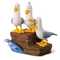 Disney/Pixar Finding Nemo Mine! Mine! Mine! Seagulls Ornament With Sound