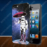 Stormtrooper Umbrella Nebula Galaxy case for iPhone 4, 4S, 5, 5S, 5C and Samsung Galaxy s2, s3, s4