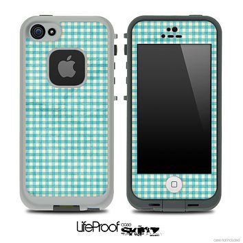 Vintage Green Plaid Skin for the iPhone 5 or 4/4s LifeProof Case
