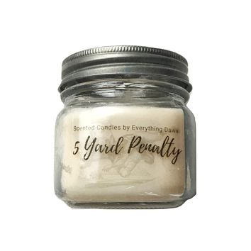 5 Yard Penalty Scented Candle