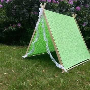 WRAP CONVERSION SLOT: A-Frame Children's Tent -Play - Read - Photo Prop - Customs avai