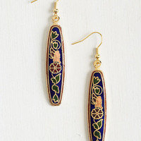 Vintage Inspired What's Nouveau With You? Earrings by ModCloth