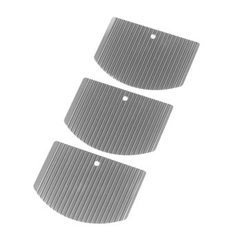 Nisaku Stainless Steel Weed Cutter Pro Replacement Blade, 3-Pack