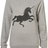Topshop - Tall Unicorn Sweat customer reviews - product reviews - read top consumer ratings
