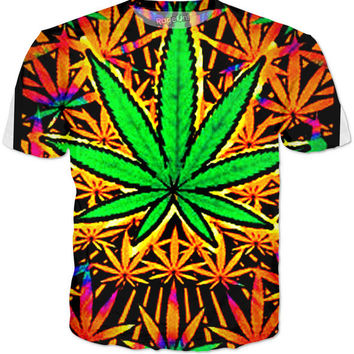Trippy Queed Crewneck T Shirt