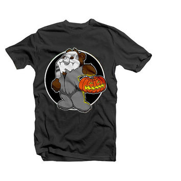 Care Bear Michael Myers - Halloween / Care Bear parody - tee shirt