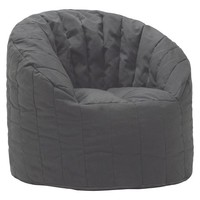 Circo™ XL Structured Bean Bag Chair - Black