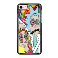 Rick And Morty Eyes Open iPhone 7 Case