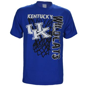 University of Kentucky Super Net on Blue T Shirt