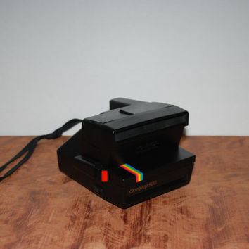 Vintage One Step Polaroid Instant Camera 600 Film 1970s Working Condition Guaranteed