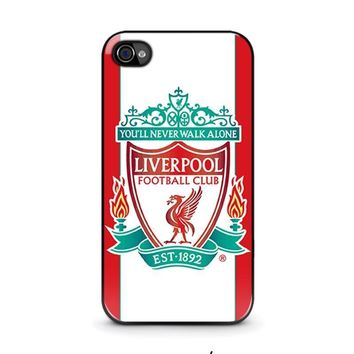 liverpool fc iphone 4 4s case cover  number 1