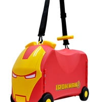 Iron Man Vrum Ride-On Toy Box