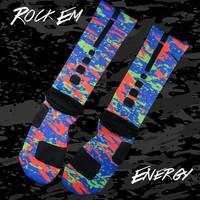 KDV Energy Custom Nike Elite Socks | Rock 'Em Apparel