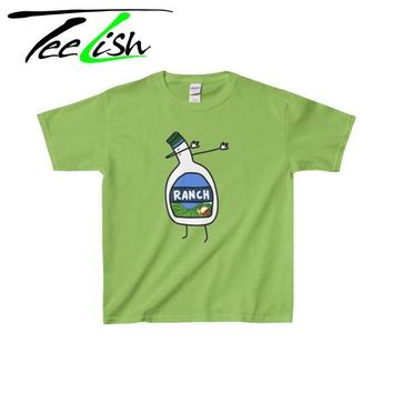 ranch dab funny kids tee shirt