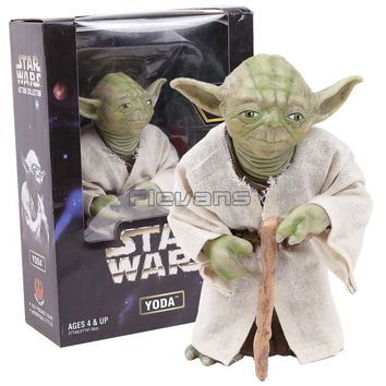 Star Wars Force Episode 1 2 3 4 5  Yoda The Jedi Master PVC Action Figure Collectible Model Toy AT_72_6