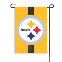 Pittsburgh Steelers NFL Mini Garden or Window Flag (15x10.5)