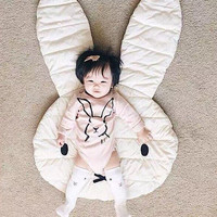 Crawling Blanket Carpet Floor Baby Play Mats /Children Room Decoration Play Rugs Rabbit  Creeping Mat