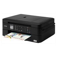 Brother MFC-J460DW Compact, Wireless Color Inkjet All-in-One Printer With Duplex and Mobile Device Printing - Black (MFCJ460DW)