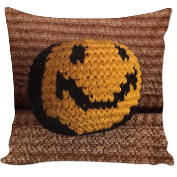 Hackie Sack Smiley Pillow
