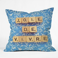 Happee Monkee Joie De Vivre Throw Pillow