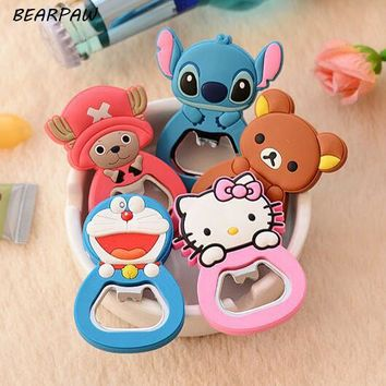 1 Pcs/set Cute Cartoon Cute Doraemon Hello Kitty Stitch Bear Fri. Type: Fridge Magnets ...