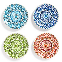 Signature Housewares 'Mandala' Plates (Set of 4)