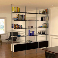 SALE ITEM - 3-Bay DIV Series Room Divider - 99""