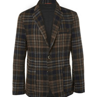 Barena - Slim-Fit Checked Stretch-Wool Blazer | MR PORTER