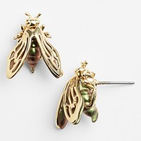 Women's Alexis Bittar 'Lucite' Bumblebee Stud Earrings