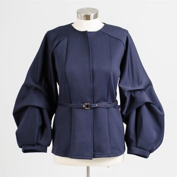 N by Nancy 9116 Puff Sleeve Jacket